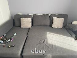 Ikea Friheten corner sofa-bed with storage, good condition