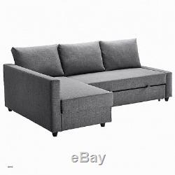 Ikea Friheten corner sofa-bed with storage grey
