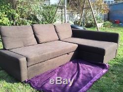 Ikea Friheten corner sofa bed with storage, right or left L shape