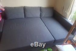 Ikea Frihetten Corner Sofa Bed Skiftebo Dark Grey