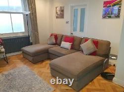 Ikea Kivik Double Chaise Corner Sofa bed