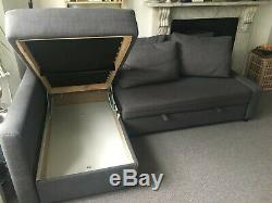 Ikea corner sofa bed with storage
