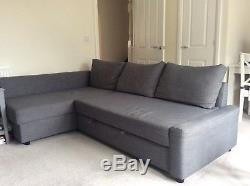 Ikea Double Sofa Bed Friheten Corner Sofa With Storage Chest In Grey ...