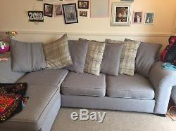 Immaculate Dfs Right Hand Facing 3 Seater Corner Sofa With Deluxe Sofa Bed
