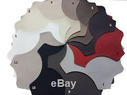 Italian Style Modern Corner Sofa Bed Uberto, LEATHER. Grey, Black, White, ETC. SALE