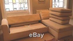 John Lewis Gainsborough 4 Seater Corner Sofa Bed RRP £2,100 Storage