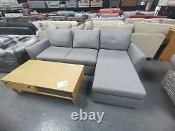 John Lewis Sansa Corner Sofa Bed In Grey Fabric Rrp £1599