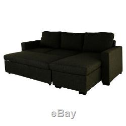 L Corner Sofa Bed Storage Shaped 3 Seater Modern Luxury Design