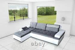 LUXURY Corner Sofa Bed with storage right side