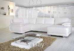 Leather Corner Sofa Bed with Storage Elegance 4