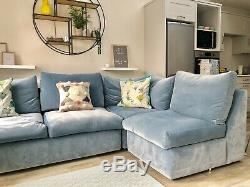 Loaf Large Corner Sofa Bed RRP £3315. Never Used. Perfect Condition