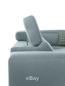 Luxurious Alova Designer Leather Corner Sofa Bed SALE