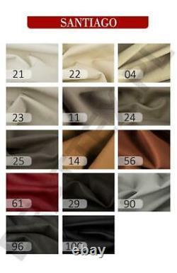 Luxurious VENETO IX Designer Leather Corner Sofa Bed