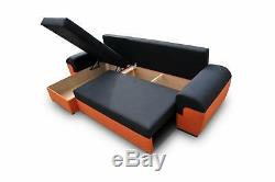 - MORI Universal SIDE Corner Sofa bed Fabric Comfy L264x115CM