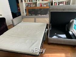 Made. Com Bari Right Hand Facing Corner Storage Sofa Bed, Malva Grey