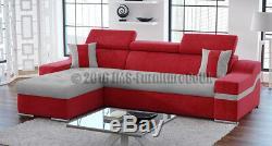 Modern Corner Sofa Bed MADRID fabric (BONELL) MODEL 2019