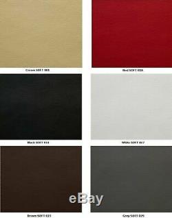 Modern Corner Sofa SILVA 1 Black Faux Leather Storage Pull Out Bed LEFT Corner