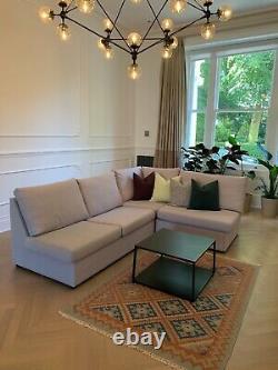 Modular Corner Sofa Bed with Storage Willow & Hall British Handmade