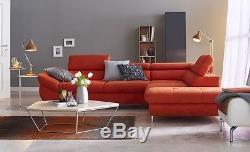 Msofas Fabio Eco Fabric Modern Lh/Rh Corner Sofa Bed Storage With Cushions
