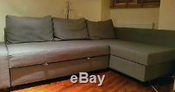 Nearly Newikea Friheten Corner Double Sofa Bed With Storage In Grey