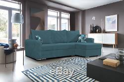 NEW Large Corner Sofa Bed with Storage Universal Comfortable Couch