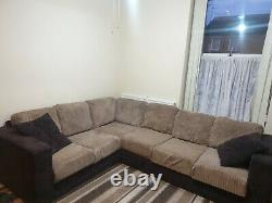 Nabru Corner Sofa + Built In Double Bed + Big 3 Seater Sofa + Chaise lounge