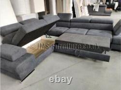 New Corner Sofa Bed GALA MAX WATERPROOF MATERIAL MODEL 2020