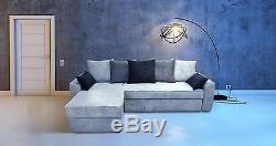 New Soft Waffle Fabric, Corner Sofa Bed Phil New! Large Storage And Springs