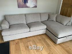 Next Stratus Corner Sofa Bed With Storage Chaise Excellent Condition So Comfy