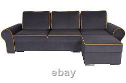 Quality Corner Sofa Bed with 2 Storage compartments. Very COMFORTABLE