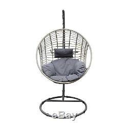 Rattan Garden Furniture Outdoor Patio Set Corner Sofa with Tables and Parasols