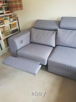 Recliner Corner Bed Sofa With Storage
