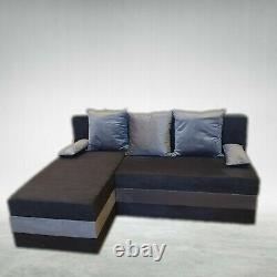SALEWoodSpinner Corner Sofa Bed With Storage PICK YOUR COLOURS