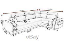 Sofa Avant, Corner Sofa Bed With Footrest U0026 2 Storages, Seater, Sleeper Sofa