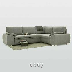'STANLEY'' CORNER SOFA BED with STORAGE! CLEARANCE! Free Delivery! BRAND NEW