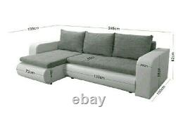 SaleBrand New Corner Sofa Bed. Was £750 now £400 Free Delivery