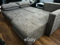 SaleBrand New Corner Sofa Bed with double storage. Left or right
