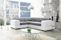 Salwador 4 corner sofa bed, left or right hand corner