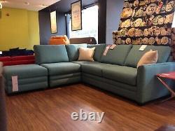 Sofa Workshop Jude Corner Sofa Bed Suite with Footstool