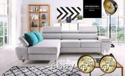 Sofa bed wersalka polskie wersalki corner MOLINA MINI choose colour