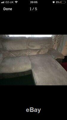 Sofa, cimiano PU leather & fabric corner sofa & bed & storage black grey white