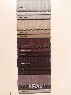U Shaped Corner Sofa Bed''sally'' XXL Bed, Grey Jumbo Cord Fabric/ Twill Fabric