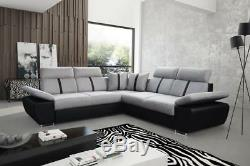 Universal Corner Sofa Bed with Storage Modern Luxury Design