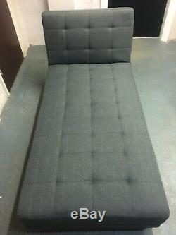 Wayfair Corner sofa-bed Dark Grey