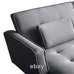 X-Large Luxury Modern 3/4 Seater Recliner Fabric Sofabed Sofa bed Settee