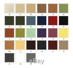 XXL Bed U Shape Corner Sofa Bed''sally'' Eco Leather Soft Waffle Fabric Dk Grey